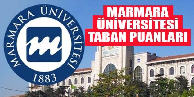 Marmara Üniversitesi taban puanları 2019