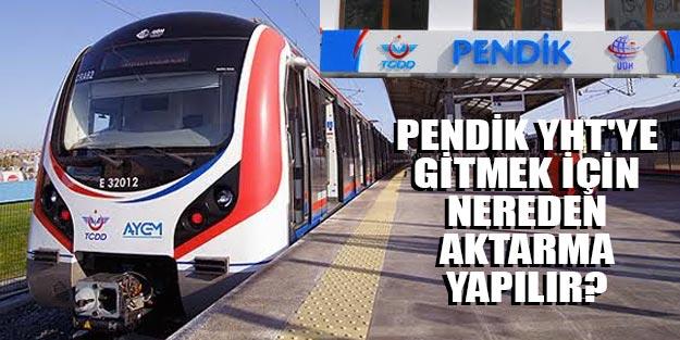 Marmaray'dan Pendik hızlı trene aktarma var mı