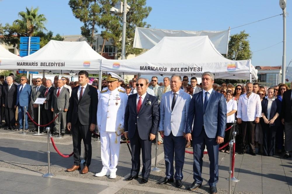 Marmaris'te 30 Ağustos Zafer Bayramı coşkuyla kutlandı