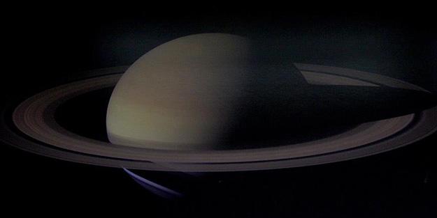 Mars'ta da Satürn gibi...