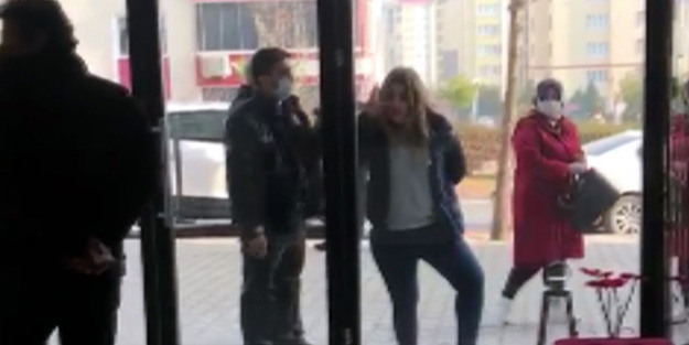 Maske takmayarak Türkiye'nin gündemine düşen kadın yine olay çıkardı!