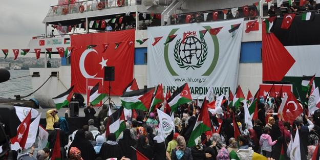 Mavi Marmara saldırısının 6. yılında İHH'dan basın açıklaması