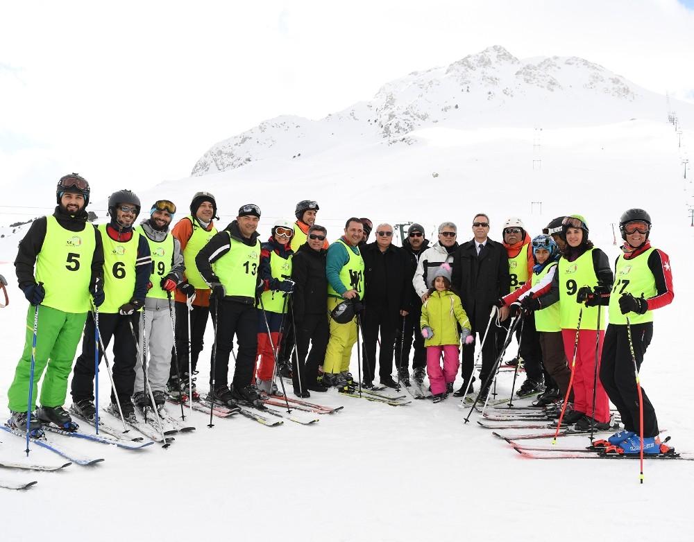 """""""Maviden Beyaza Antalya"""" Kış Sporları Organizasyonu başlıyor"""