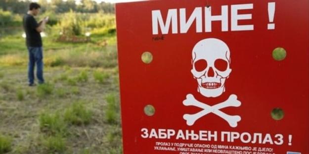 Mayınlı arazilerden uzak durun!
