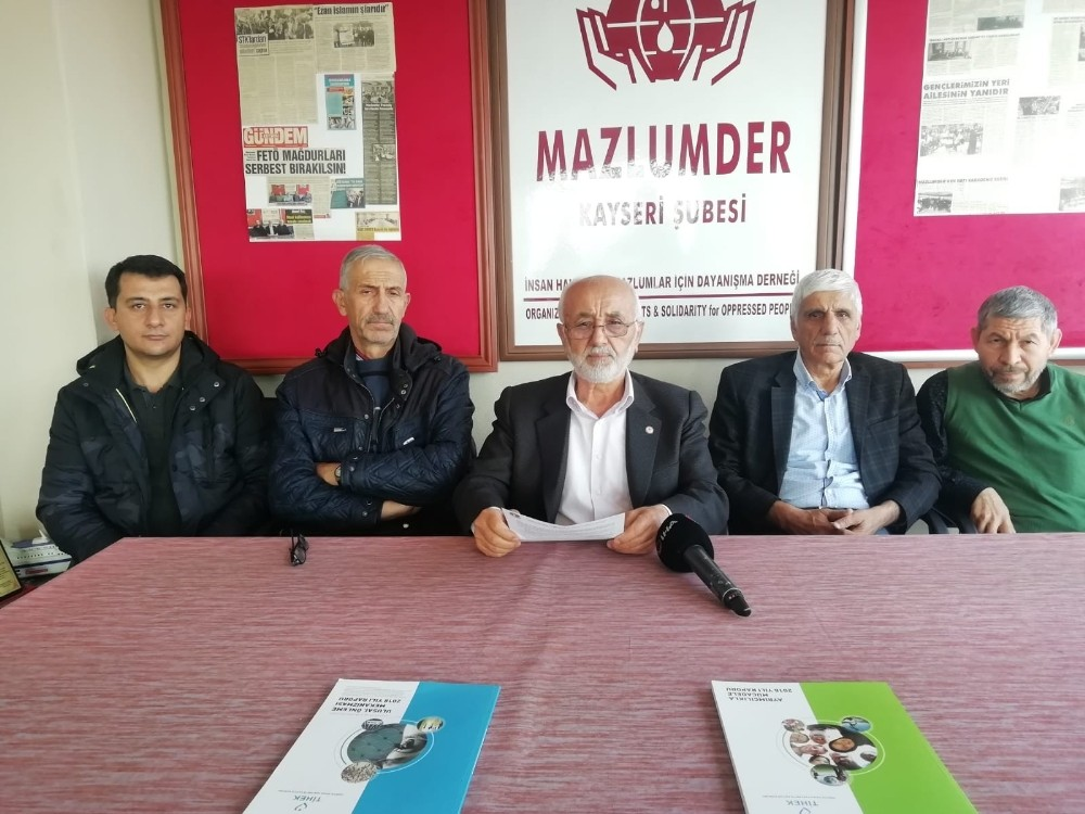 """MAZLUMDER Kayseri Şube Başkanı Ahmet Taş: """"Yeni güvenlik soruşturması teklifinde, kişilerin hayatlarına müdahale edilmesi meşru değildir"""""""