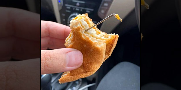 McDonald's hamburgerinden bir ısırık alan kadın hayatının şokunu yaşadı!