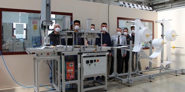 MEB, Ar-Ge çalışmaları sonucu salgınla mücadele için makine üretti!