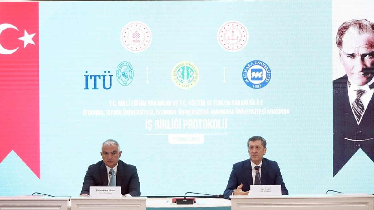 MEB ile Kültür ve Turizm Bakanlığı arasında işbirliği anlaşması