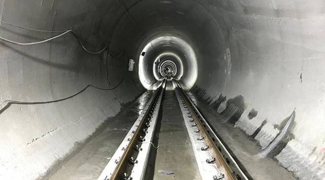 Mecidiyeköy-Mahmutbey metro hattının yüzde 90'ı tamamlandı