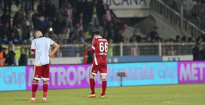 Medicana Sivasspor, 11 yıl sonra 1. Lig'e düştü