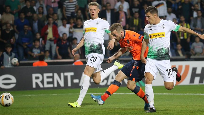 Medipol Başakşehir Borussia Mönchengladbach deplasmanında