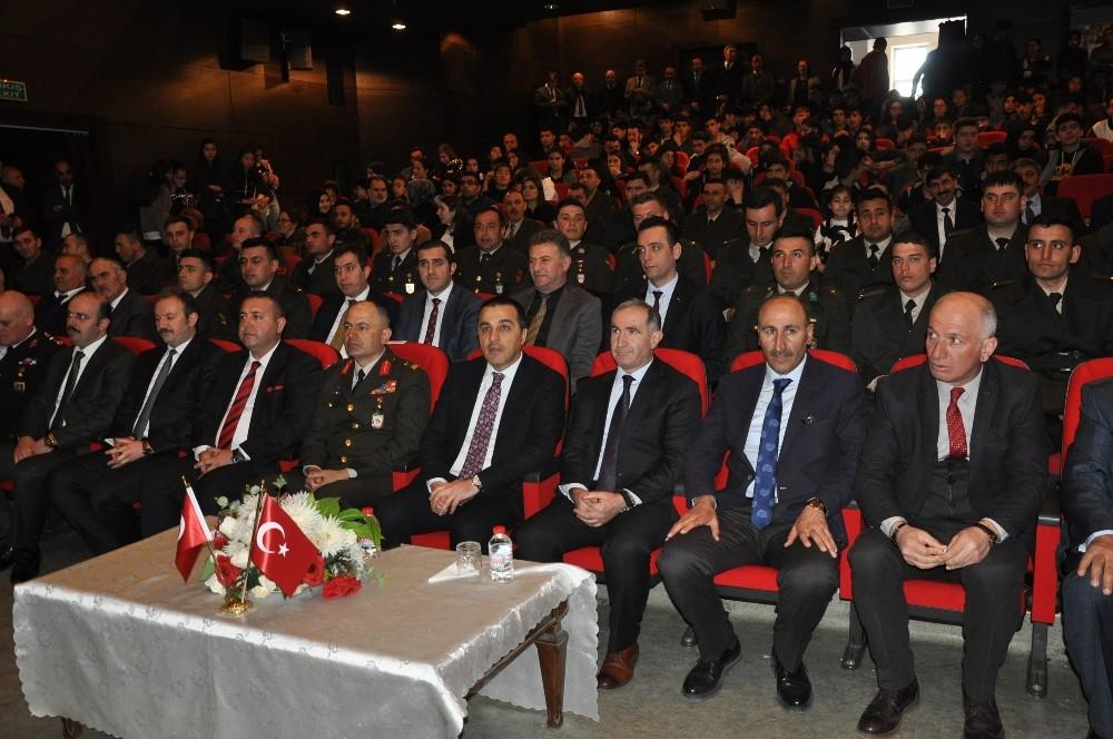 Mehmet Akif Ersoy Kars'ta anıldı