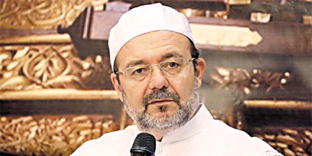 Mehmet Görmez: Ayasofya'nın yeniden ibadete açılmış olması...