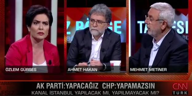 Mehmet Metiner'in sözleri Özlem Gürses'i çıldırttı!