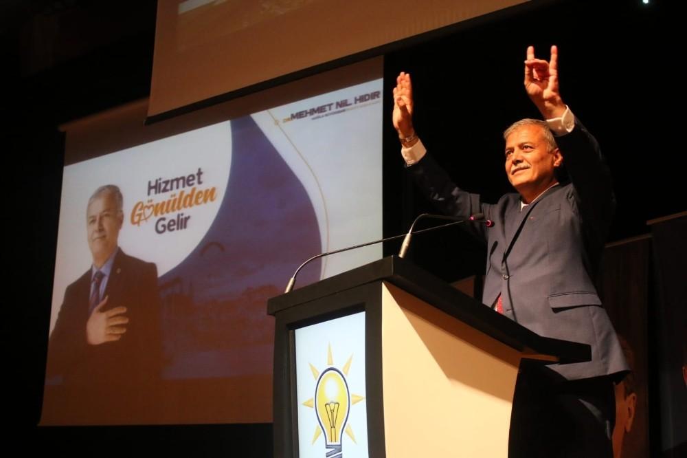 Mehmet Nil Hıdır, büyükşehir projelerini paylaştı