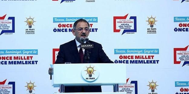 Mehmet Özhaseki'den Ankara için 111 proje