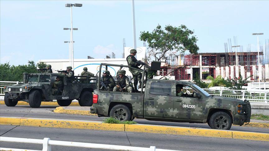 Meksika'da hükümet Culiacan kentine ilave askeri birlik gönderdi