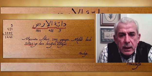 Mehmet Ali Bulut'tan Ebced hesabına göre koronavirüs iddiası: 76 ila 125...