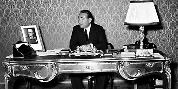 Menderes CHP'nin soygunlarını kanunla önlemiş