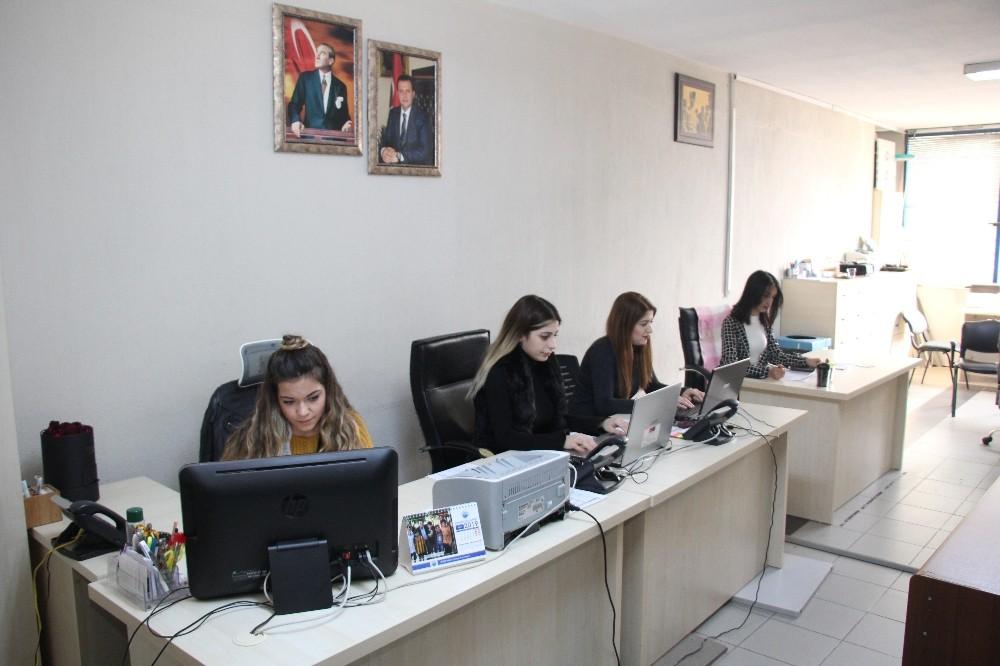 Menderes'teki yeni hizmetle anlık iletişim