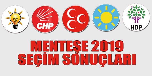 Menteşe seçim sonuçları 2019 | Muğla Menteşe 31 Mart seçim sonuçları oy oranları