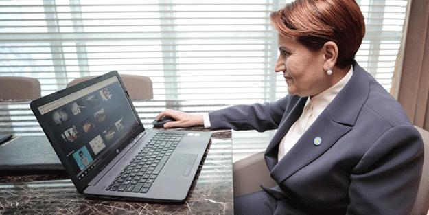 Meral Akşener, AA'nın yılın fotoğrafları oylamasına katıldı