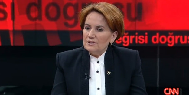 Meral Akşener canlı yayında açıkladı!