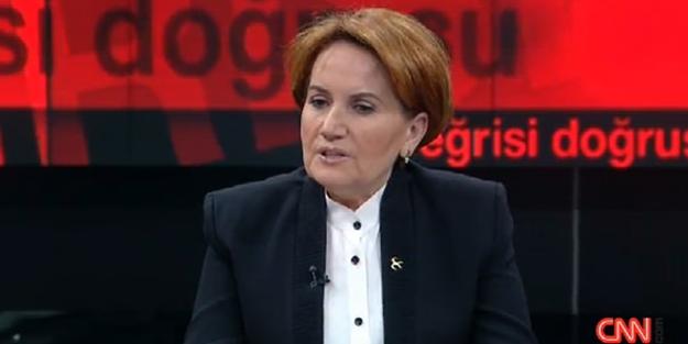Meral Akşener canlı yayında beddua etti