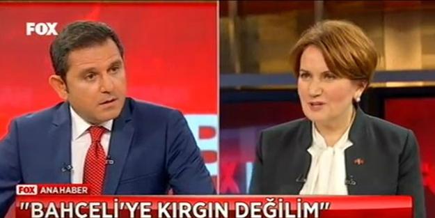Meral Akşener Fatih Portakal'ı şaşkına çevirdi