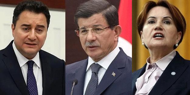 Akşener'in Davutoğlu ve Babacan çıkışına çok sert tepki: Kiralık vekil