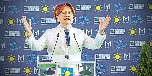 Akşener'in ilk mesajı sapkınları koruyan İstanbul Sözleşmesi oldu