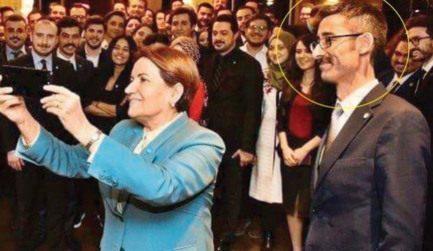 Meral Akşener'in yanında dikkat çeken isim