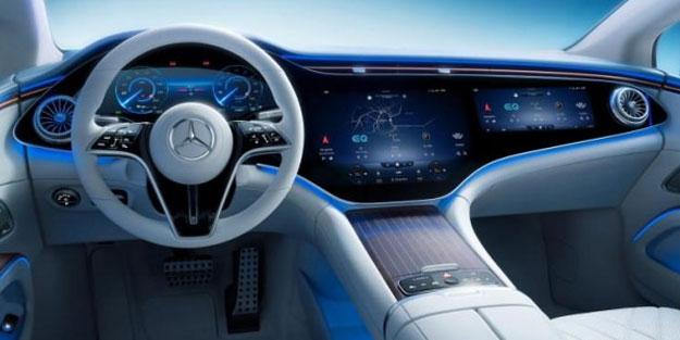 Mercedes geleceğin otomobili EQS'i tanıttı