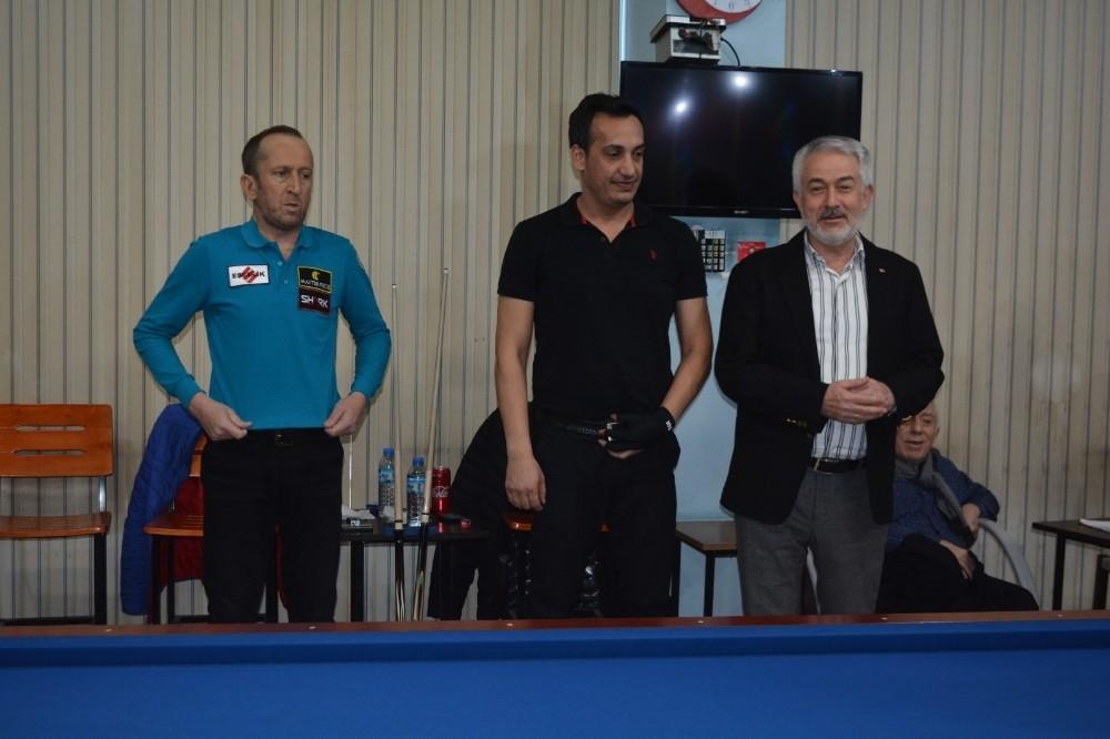 Merhum Bilardocular Okay Öztürkler ve Ali Yaman düzenlenen turnuva ile anıldı