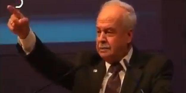Merhum Şevket Kazan'ın unutulmayan konuşması