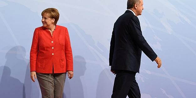 Merkel Erdoğan'ın yemeğine katılmayacak!