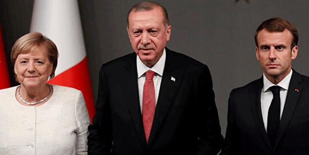 Merkel ve Macron'dan Türkiye itirafı