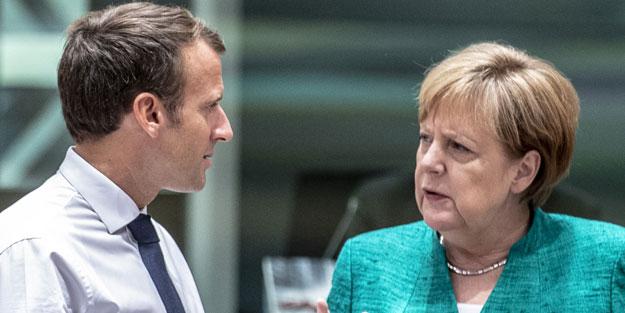 Merkel ve Macron'dan Türkiye'ye karşı hain plan! Rapor ortaya çıktı