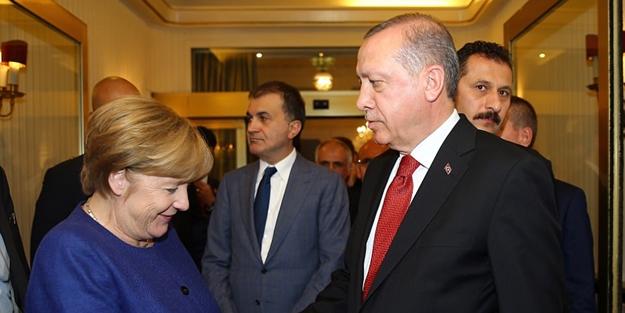 Merkel'den kritik görüşme öncesi küstah açıklamalar