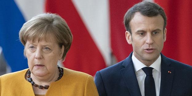 Merkel'den Macron'a çok sert tepki: Yersiz bir sözlü saldırı