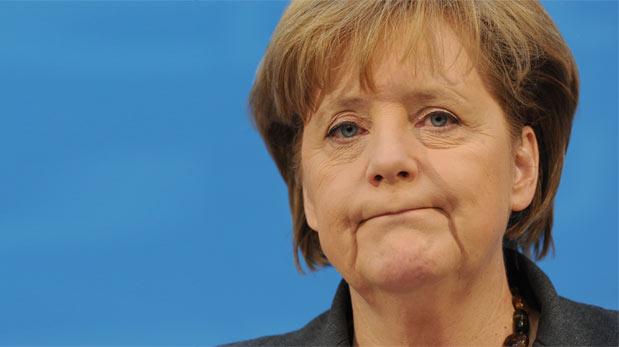 Merkel'den geri vites!