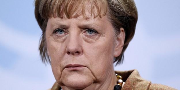 Merkel'e kendi halkından 'Nazi' şoku!