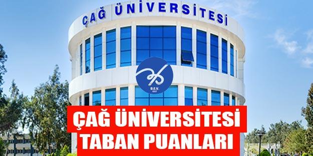 Mersin Çağ Üniversitesi taban puanları 2019