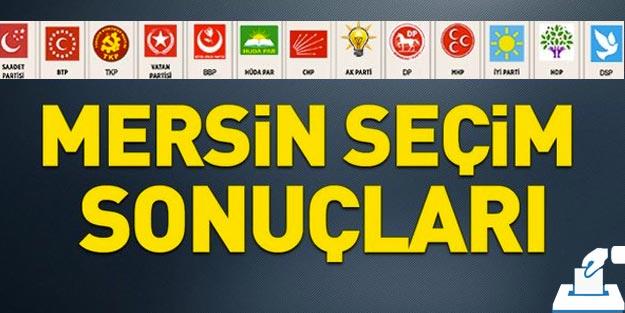 Mersin yerel seçim sonuçları 2019 | Mersin ilçeleri seçim sonuçları Cumhur ittifakı Millet ittifakı oy oranları
