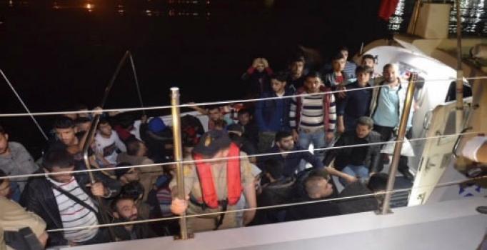 Mersin'de 42 kaçak yakalandı!