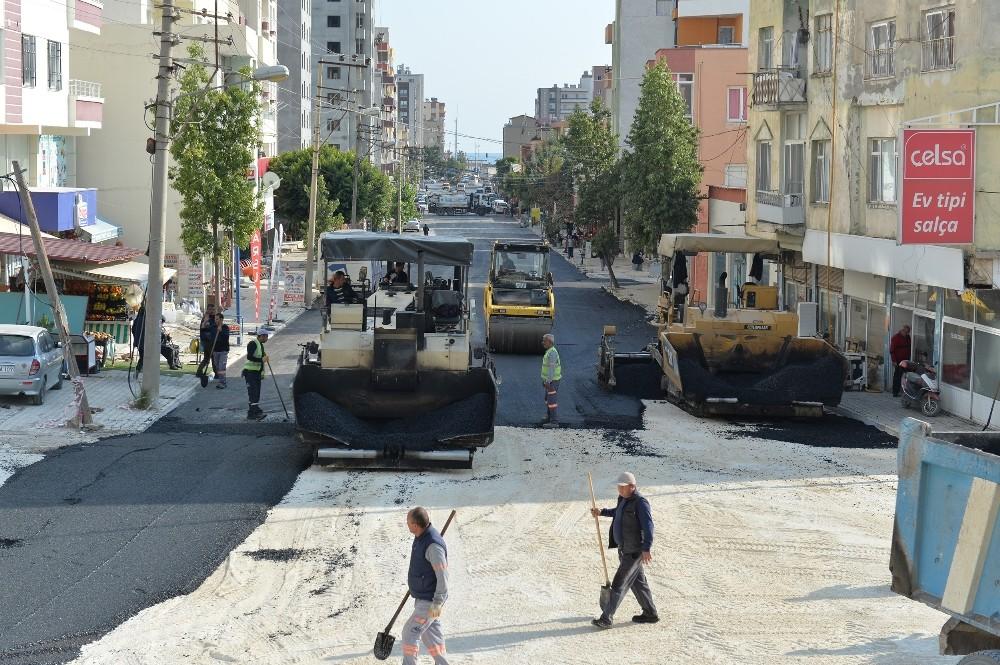 Mersin'de 9 ayda 126 bin 509 ton sıcak asfalt çalışması yapıldı