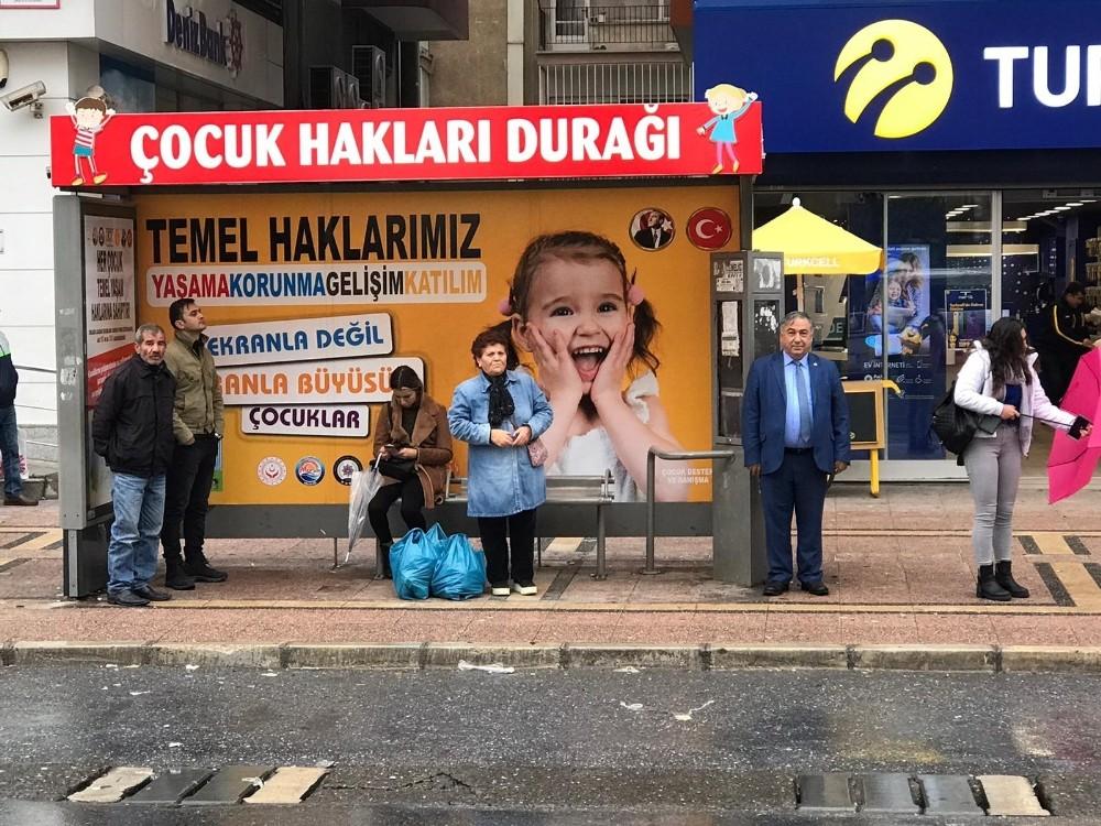 Mersin'de 'çocuk hakları durağı'nın ikincisi de hizmete girdi