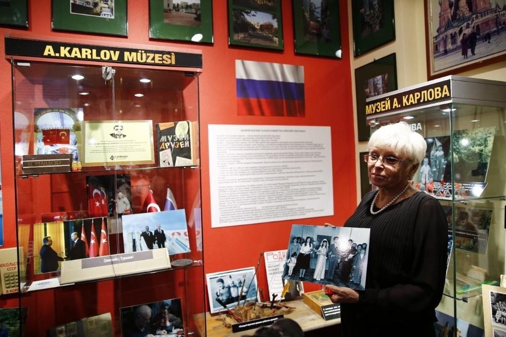 Mersin'de eski Rus Büyükelçi Andrey Karlov anısına müze açıldı
