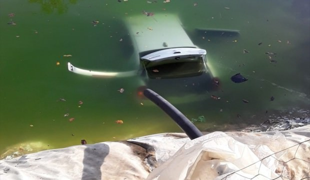 Mersin'de havuza düşen otomobildeki kadın öldü