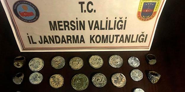 Mersin'de Roma ve Grek dönemi eserler ele geçirildi